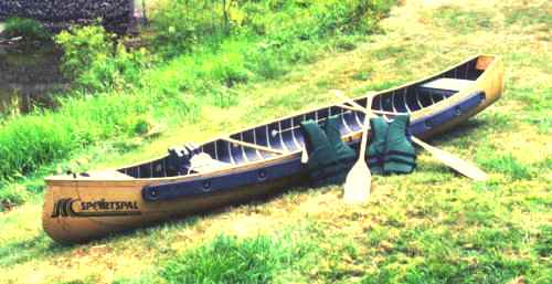 Sportspal 13' SQ. Stern Canoe Package by Meyers sportspal0013